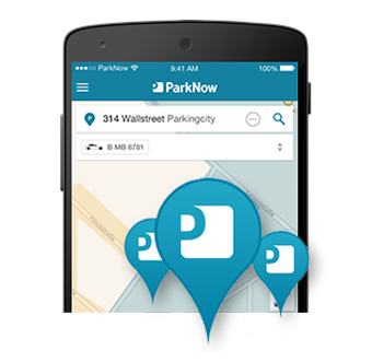 Find, park and pay your parking space with ParkNow