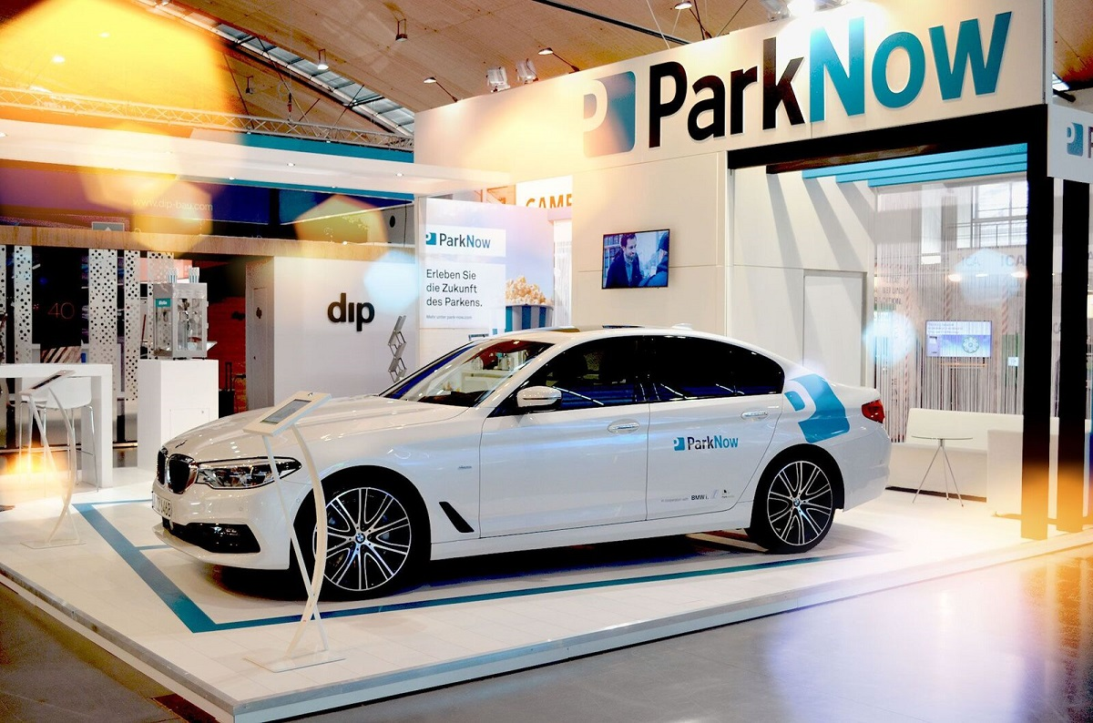 Parknow On The Trade Fair Quot Parken 2017 Quot In Karlsruhe